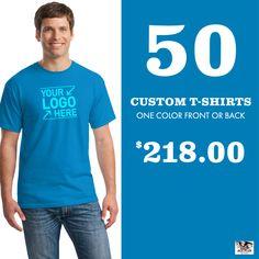 Create custom one color Gildan t-shirts for less! Fast free shipping & design help. Use promo code AMERICA2020    #gildan  #tshirts  #screenprinting Custom T, Custom Shirts, Custom Design, Custom Screen Printing, Ash Grey, Screenprinting, One Color, Free Shipping, Create