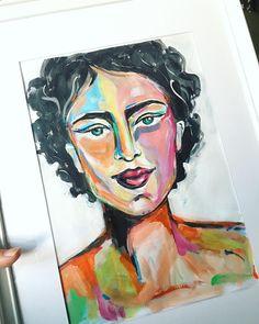 Cheer Me Up, Gallery Wall, Colorful, Studio, Flowers, Painting, Instagram, Art, Art Background