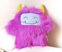 Jasmine the purple stuffed monster, Curious Little Bird