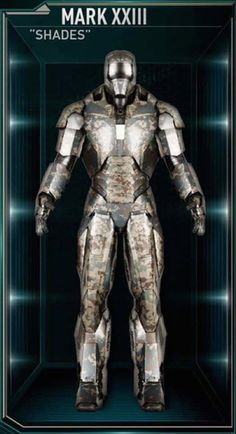 "Mark XXIII (""Shades"")  From 'Iron Man 3' (2013)"