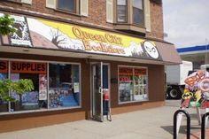 Queen City Book Store  (716) 833-6220  |  3184 Main St  |  Buffalo, NY 14214