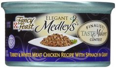 NESTLE PURINA PETCARE 50824 24-Pack Fancy Feast Elegant Medleys Tastemakers Turkey/Chicken Food for Pets, 3-Ounce ** Remarkable product available now.(This is an affiliate link and I receive a commission for the sales) : Cat Food