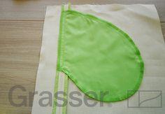 Технология пошива: обработка кармана в шве с припусками вразутюжку.