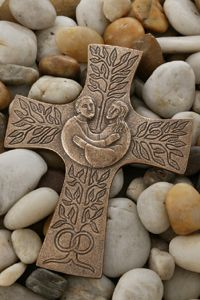 Bronze Anniversary Gifts, Bronze Gifts, Cross Symbol, 5 Gifts, Wall Crosses, Mural Painting, Sacred Art, Metal Clay, Christian Inspiration