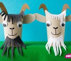 Animal Crafts For Preschoolers - Toilet Roll Craft, Toilet Paper Roll Art, Rolled Paper Art, Toilet Paper Roll Crafts, Cardboard Crafts, Farm Animal Crafts, Animal Crafts For Kids, Fun Crafts For Kids, Diy For Kids