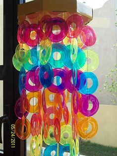 These are melted plastic cups!!! How cool is this?????