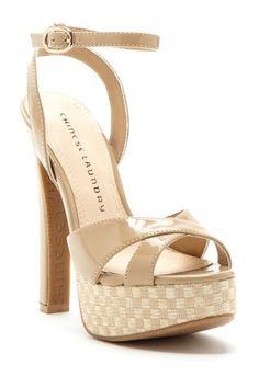 Z Turn My Way Platform Sandals//