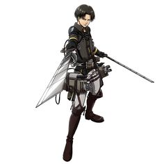 leviskinnyjeans: Wings of Counterattack—Levi Ackerman Source