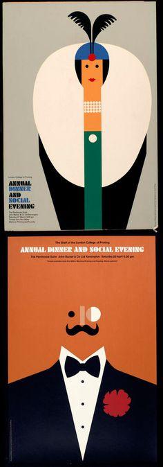 modern century art   ... : Tom Eckersley: British Poster Artist   Mid-Century Modern Blog
