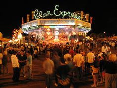 Polar Express at the South Carolina State Fair
