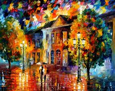 Come Together — PALETTE KNIFE Oil Painting On Canvas by AfremovArtStudio, $239.00