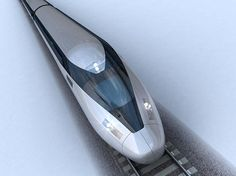 The first picture of the train set to speed across Britain at Uk Rail, Construction News, Future Transportation, High Speed Rail, Train Pictures, Speed Training, Train Set, Concept Architecture, One Pic