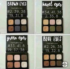 Eyeshadows for every eye color – LimeLight by Alcone with the GlitterCEO – Email… - Domino. Eyeshadow For Blue Eyes, Makeup For Green Eyes, Colorful Eyeshadow, Eyeshadow Looks, Makeup Palette, Eyeshadow Palette, Eyeshadows, Beauty Guide, Beauty Hacks