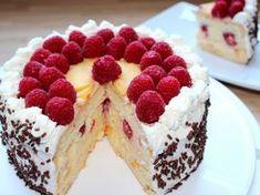 Tejszínes gyümölcstorta recept