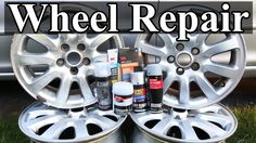 Restore Damaged Wheels! How to repair rims with deep scratches and curb rash. This wheel repair works on your aluminum alloy and steel rims no matter how dee...