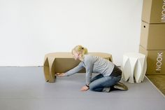 Nook stool by Patrick Frey for VIAL furniture 2