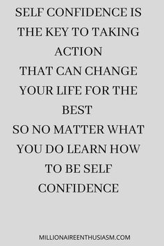 Be confident and take the action you need to take to be who you are supposed to be. Can't find the confidence? Click here!! Self Compassion Quotes, Be Kind To Yourself, Self Confidence, You Deserve, You Changed, Love You, Wisdom, Learning, Words