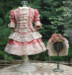 A GREAT Vintage dress on a German, French antique doll | Dolls & Bears, Dolls, Antique (Pre-1930) | eBay!