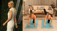 Gwyneth Paltrow's Butt-Shaping Moves
