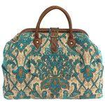 Mary Poppins Style Large Custom Carpet Bag Travel Bag