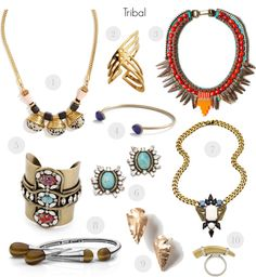 Currently Coveting: Tribal Jewelry