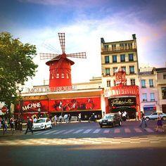 The Moulin Rouge Paris