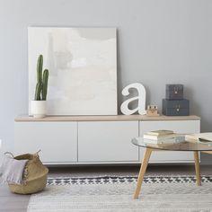Trend mueble tv con puertas 180 cm