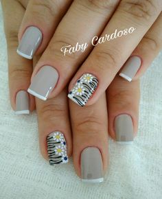 50 Beautiful Nail Art Designs & Ideas Nails have for long been a vital measurement of beauty and Love Nails, How To Do Nails, Pretty Nails, Fun Nails, Acrylic Nail Designs, Nail Art Designs, Florida Nails, Nail Art For Beginners, Finger Nail Art