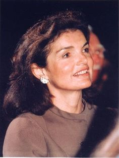 """Jackie'sl Ivory Enamel Earrings and matching bracelet were a gift from her long time friend and White House restoration advisor, Rachel """"Bunny"""" Mellon. Camrose & Kross have made fine reproductions for the public"""