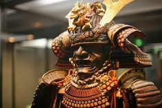 Armor for samurai (Tokyo National Museum): photo by mikography.com, via Flickr