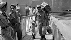 65 jaar geleden de MS Kota Inten, met aan boord 900 Molukkers. Er zouden er dat eerste halfjaar van 1951 nog ruim 11.500 volgen, in twaalf grote scheepstransporten.