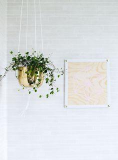 Mönster-tavla av Sandra på Atilio / Metro Geometric Wall Art, Custom Wallpaper, Outdoor Spaces, Sweet Home, Plants, Diy, Juni, Inspiration, Interior Ideas