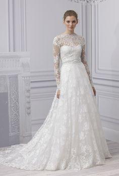 Genialna suknia ślubna.