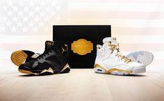 sale retailer e3d44 1d198 Jordan Brand  Golden Moments  Sneaker Pack - Air Jordan 6 Retro   Air  Jordan 7 Retro
