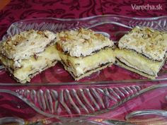 Orechový chvastúň Slovak Recipes, Czech Recipes, Russian Recipes, Something Sweet, Desert Recipes, Carrot Cake, No Bake Cake, Nutella, Sweet Recipes