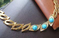 New fashion golden turquoise eye bracelet lady's gift jewelry sl36