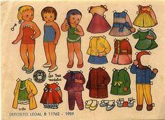 recortables, muñecas de papel para vestir, paper dolls - merimartinez1 - Picasa Web Albums