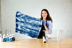 How to Do Arashi-Style (Pole-Wrapping) Shibori #RitDye