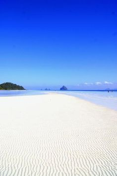 Nice to look at - but is paradise that boring in the long run? ;-) >>Paradise