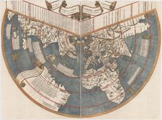 Map of the Known World by Johannes Ruysch, 1507.