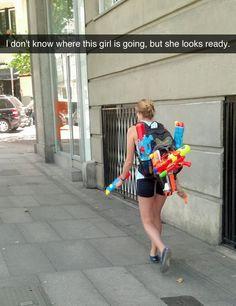 She looks READY