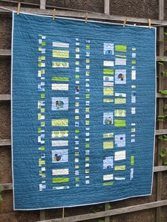 love the colors of this quilt... baby quilt idea by sew katie did