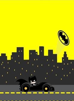 Batman in Black and Yellow: Free Printable Cards or Invitations. - Batman Party - Ideas of Batman Party - Batman in Black and Yellow: Free Printable Cards or Invitations. Lego Batman Party, Batman Birthday, Disney Cars Birthday, Superhero Party, Batman Poster, Batman Printables, Batman Free, Batman Party Supplies, Batman Invitations