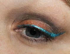 AuttyW: Caribbean Fireball Eye Look