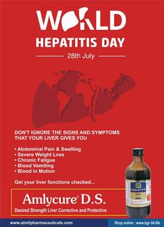 14af1f06326  WorldHepatitisDay (WHD) takes places every year on 28 July and brings the  world