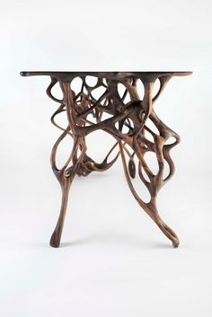 Growth Table In Walnut By Mathias Bengtsson.
