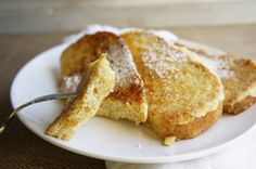 Couple reasons why I love this french toast (grenki) recipe: It takes 10 minutes to the table. Puts a good use to that stale, and old bread