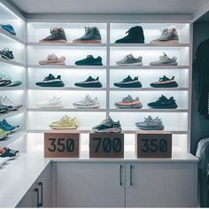 """We are happy to be able to hand out Adidas Yeezy Boost 350 """"Zebra"""" to many of our fans Visit our page to get a pair for yourself! Rate it! Shoe Room, Shoe Wall, Yeezy Collection, Shoe Collection, Tenis Yeezy, Kanye West, Yeezy Runner, Hypebeast Room, Sneaker Storage"""