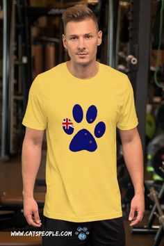 New Zealand flag inside a cat paw! the purrfect design for all kiwi cat lovers and cat owners. A simple unique design that will suit your taste if you're a new zealander and a cat parent! This t-shirt feels soft and lightweight, with the right amount of stretch. It's comfortable and flattering for cat moms and cat dads alike. #catlovertshirt #catmomtshirt #newzealandflag #newzealandtshirt #kiwitshirt #catladytshirt #crazycatladytshirt #kiwicatlover #kiwicatdad