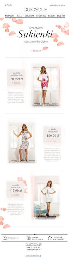 Romantyczne sukienki znajdziesz tylko w Quiosque! Uwaga! Można się zakochać <3 @quiosque #romantycznesukienki #newsletter #dress #romantic